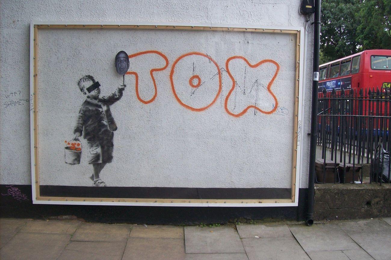 Banksy e Boresta