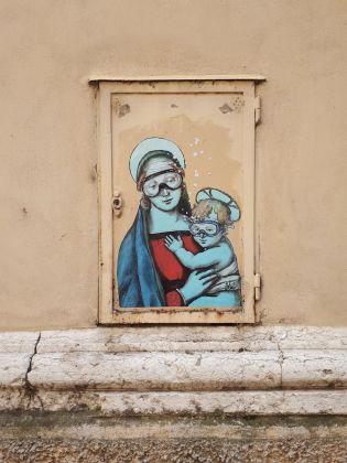 Blub, Madonna del Raffaello, Mantova, 2018