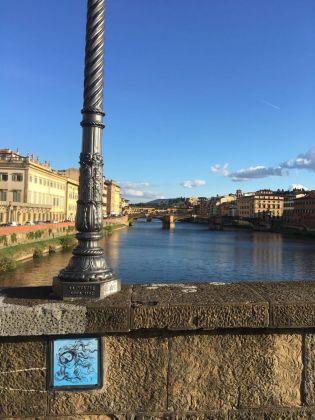 Blub, Ponte alla Carraia, Firenze, novembre 2016