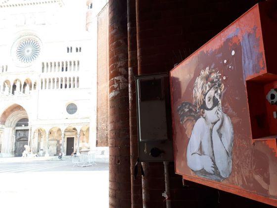 Blub, Putto di Raffaello, Cremona, 2018