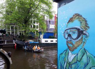 Blub, Van Gogh, Amsterdam, 2018