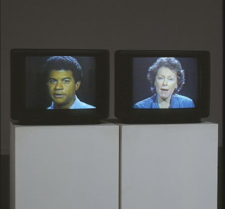 Bruce Nauman, Good Boy, Bad Boy, 1985. M HKA - Museum Of Contemporary Art, Anversa