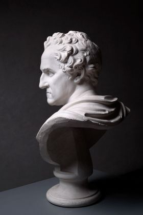 Canova's George Washington. Installation view at Gipsoteca e Museo Antonio Canova, Possagno 2018. Photo Fabio Zonta