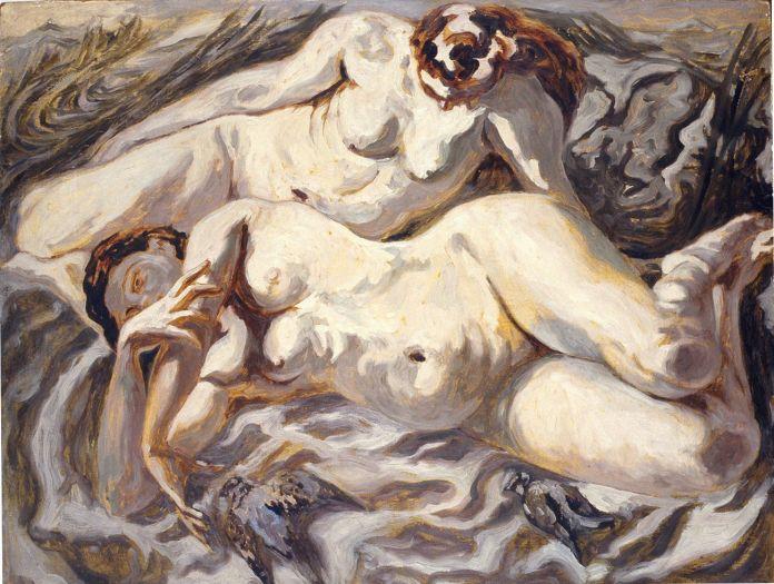 Carlo Levi, Due nudi, 1940 © Riccardo Lodovici. Courtesy Carlo Levi Fondazione, Roma