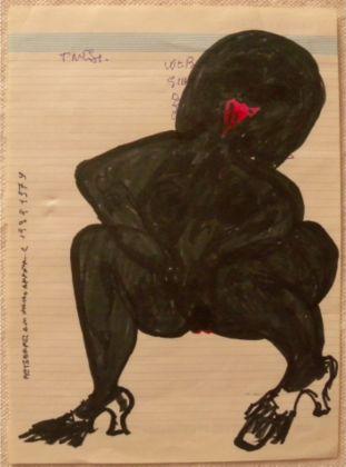 Carol Rama, Senza titolo, 1979. Photo Torquato Perissi
