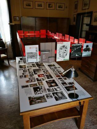 Case Milanesi 1923-1973. Exhibition view at Villa Necchi Campiglio, Milano 2018