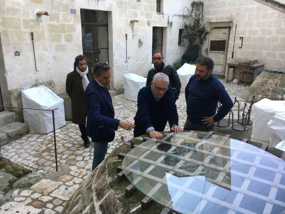 Corte San Pietro, Alfredo Pirri per Matera Alberga