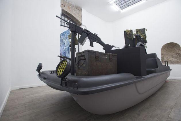 Cristiano Carotti. Stessa spiaggia, stesso mare. Installation view at White Noise Gallery, Roma 2018