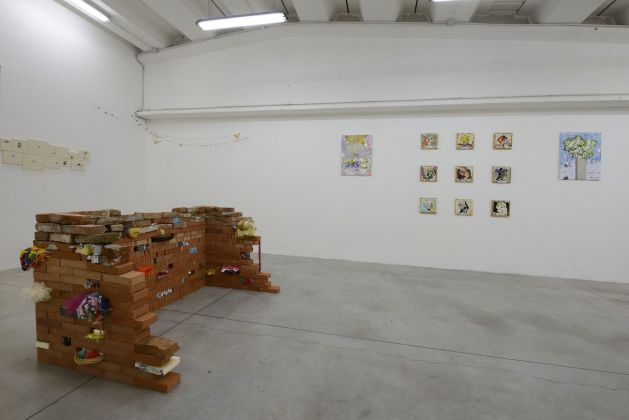 Daniel González. Present Monuments. Exhibition view at Boccanera Gallery, Trento 2018. Photo Nicola Eccher. Courtesy Galleria Boccanera