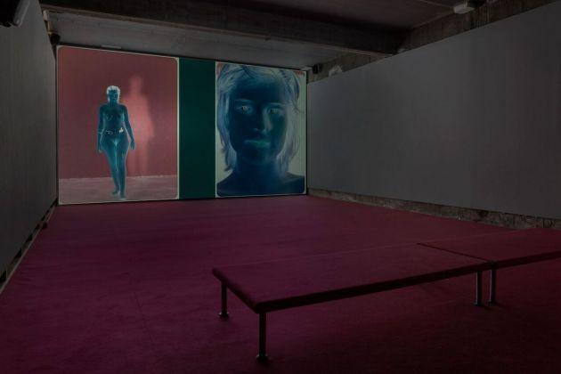 Dara Friedman. L☿over. Installation view at Galleria Franco Noero, Torino 2018. Photo Sebastiano Pellion di Persano
