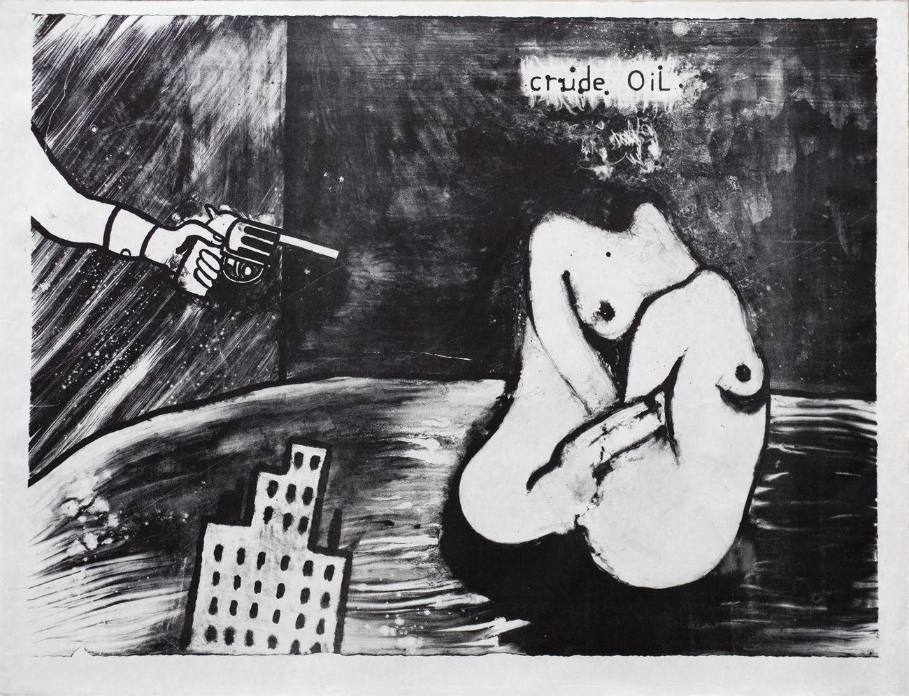David Lynch, Crude Oil, 2014 © Item editions