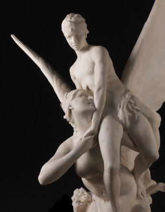 Denys Pierre Puech, Sereia Alada Arrebatando um Adolescente, Paris, 1889, Museu Calouste Gulbenkian, Foto Catarina Gomes Ferreira