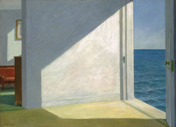 Edward Hopper, Rooms by the sea, 1951. Yale University Art Gallery, New Haven