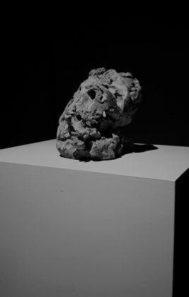 Emanuele Becheri, Testa, 2017. Courtesy l'artista