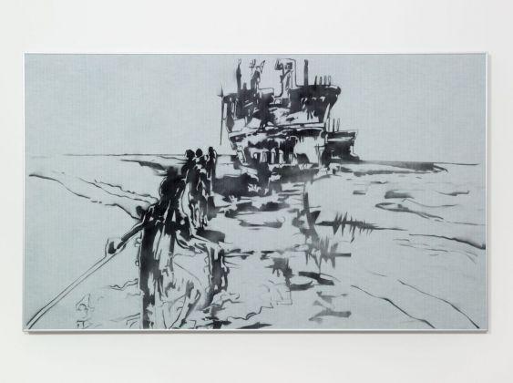 Eva Marisaldi, Shipbreakers, 2007. Courtesy Galleria De' Foscherari, Bologna