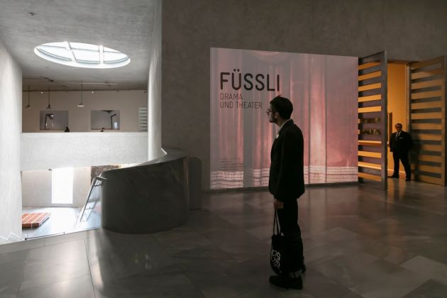 Füssli. Drama und Theater. Installation view at Kunstmuseum Basel, 2018. Photo Julian Salinas