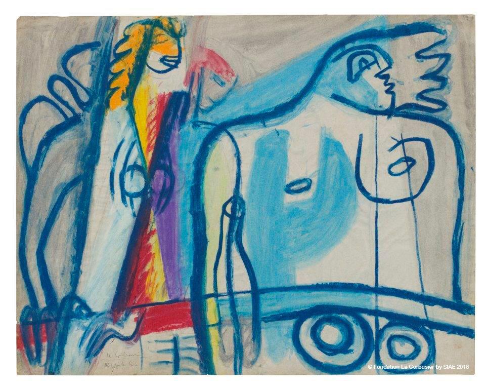 I Disegni Di Le Corbusier In Mostra A Orani Artribune