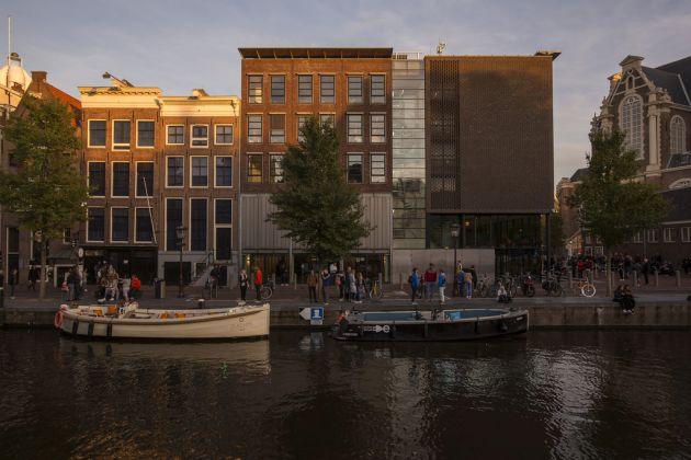 Front Anne Frank House, Prinsengracht © Anne Frank House. Photographer Cris Toala Olivares