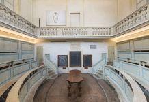 Gare de Moi. Carlo Benvenuti. Exhibition view at Teatro anatomico, Modena 2018. Photo Rolando Paolo Guerzoni