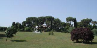 Giardino della Fondazione Baruchello, presso la sede di Via di Santa Cornelia