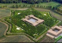 Giardino della Masone, Labirinto in bambù