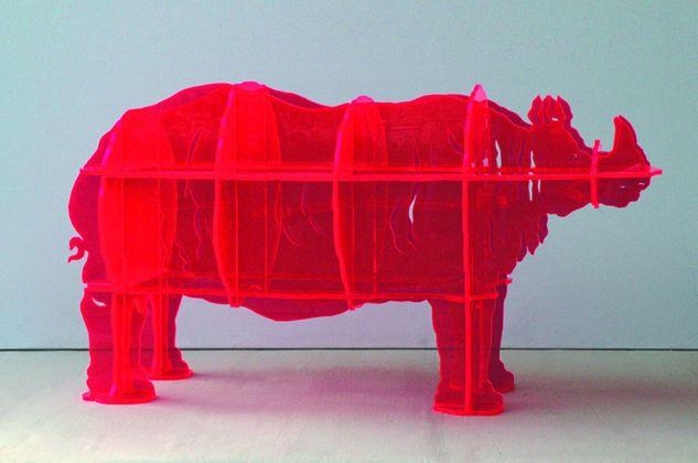 Gino Marotta, Rinoceronte artificiale, 1971