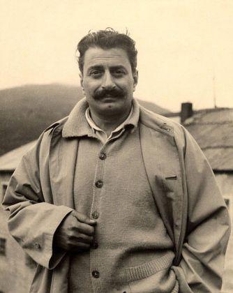 Giovannino Guareschi negli anni Cinquanta