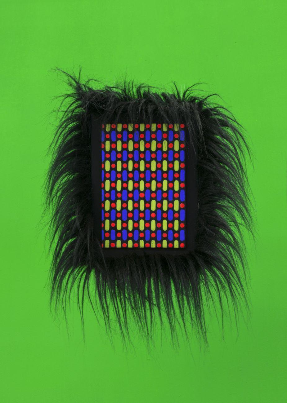 Giulio Frigo, Hairy Pixel (RGB flagellate), 2018. Photo Sebastiano Pellion