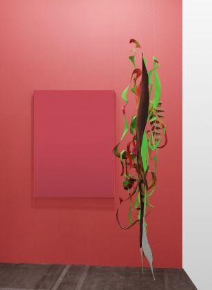 Giulio Frigo, Stato di disgregazione 1 (figura elastica), 2018. Photo Andrea Rossetti