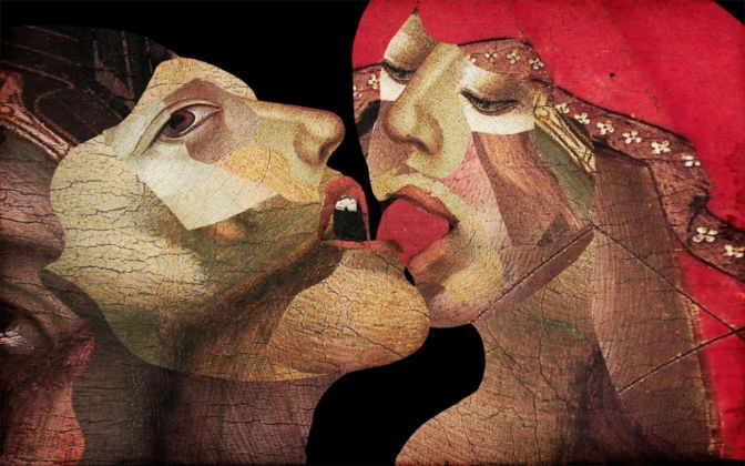 Giuseppe Ragazzini, Il Bacio, 2007. Courtesy l'artista