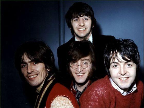 I Beatles nel 1968