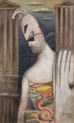Giorgio de Chirico, Pericle, 1925, stima su richiesta. Courtesy Il Ponte