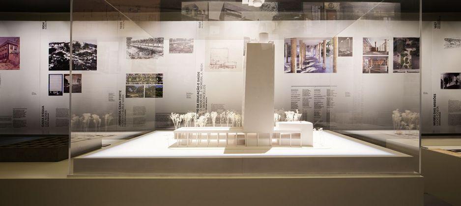 Infinito Vão. 90 anos de Arquitectura Brasileira (1928-2018). Exhibition view at Casa da Arquitectura, Matosinhos, Porto 2018. Photo © Lara Jacinto. Courtesy Casa da Arquitectura, Matosinhos, Porto