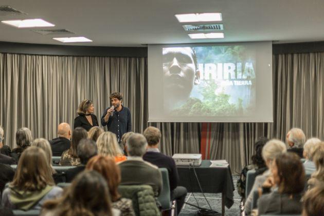 Il regista Carmelo Camilli presenta il suo film documentario Iriria Nina Tierra alla seconda edizione del Festival for the Earth