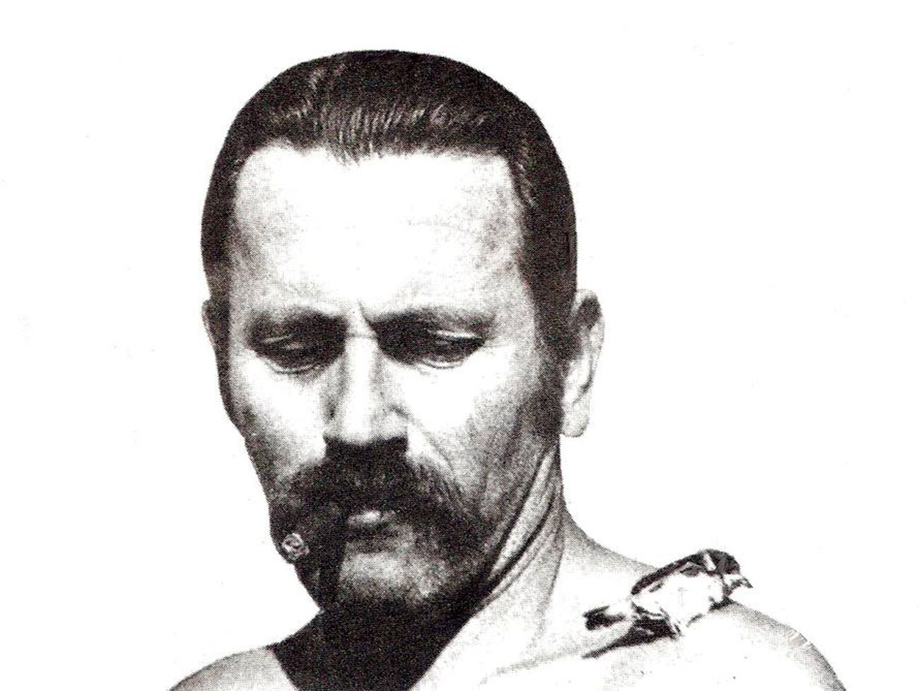 Ilija Šoškić, Icarus (Sparrow on Shoulder), 1973. Photo documentation Arhiv Šoškić