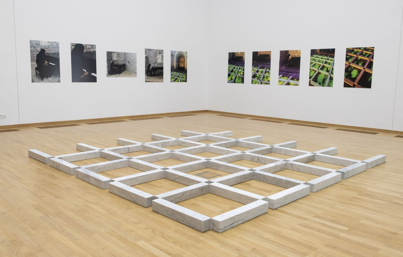 Ilija Šoškić. Action Forms. Exhibition view at Museo di Arte Contemporanea, Belgrado 2018. Photo Bojana Janjić MoCAB