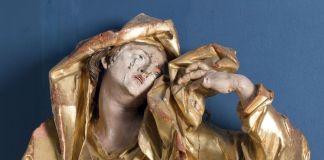 Johann Georg Pinsel, Mourning Madonna (dettaglio), 1758 ca. National Art Gallery, Lviv