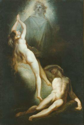Johann Heinrich Füssli, Die Erschaffung Evas, 1791-93 © Hamburger Kunsthalle. Photo Elke Walford. Courtesy Kunstmuseum, Basilea
