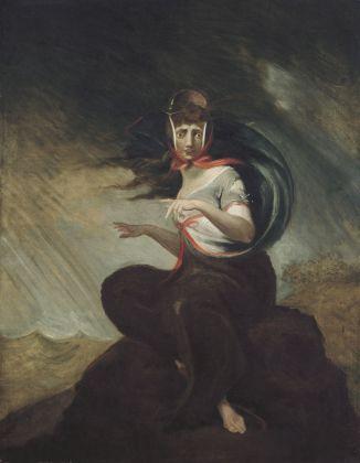 Johann Heinrich Füssli, Die wahnsinnige Kate, 1806-07 © Freies Deutsches Hochstift - Frankfurter Goethe-Museum. Photo Ursula Edelmann. Courtesy Kunstmuseum, Basilea