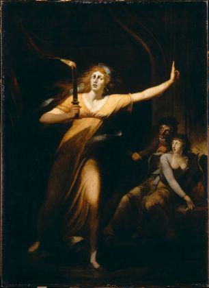 Johann Heinrich Füssli, Lady Macbeth, schlafwandelnd, 1783 ca. Louvre, Paris. Photo © RMN-Grand Palais - Hervé Lewandowski. Courtesy Kunstmuseum, Basilea