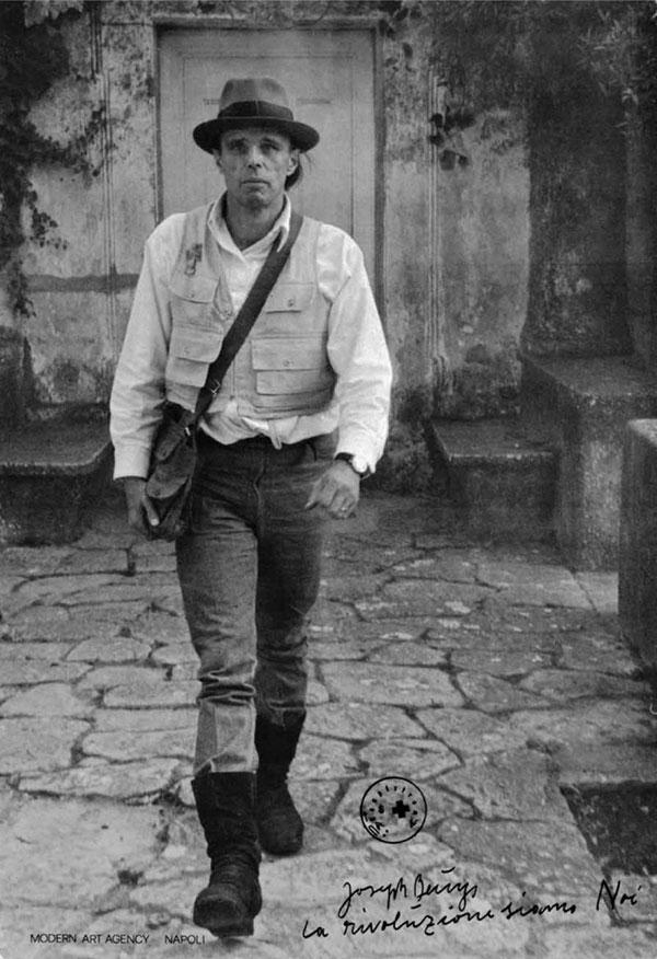 Joseph Beuys, La rivoluzione siamo noi ,1971