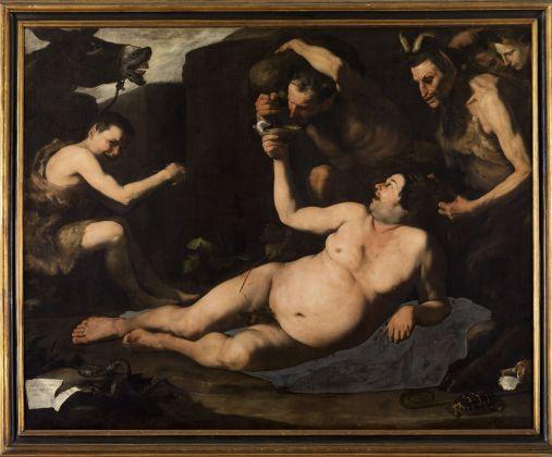 Jusepe de Ribera, Sileno ebbro, 1626. Napoli, Museo e Real Bosco di Capodimonte. Photo Luciano Romano