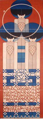 Koloman Moser, Poster per la XIII Esposizione della Secessione, 1902 © MAK