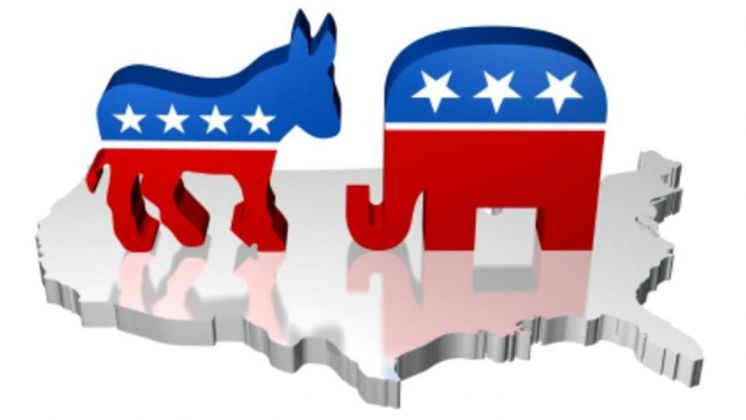 L'asinello del Partito Democratico e l'elefante del Partito Repubblicano. Fonte lastampa.it