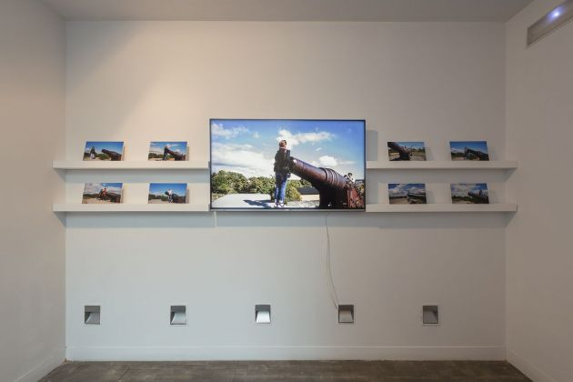 LOOP Festival, Barcellona 2018. Erkan Özgen, Memory of Times, 2018. Installation view at Fundación Tàpies, Barcellona 2018