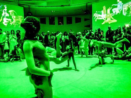 La danza de la esponja. Philosophy of Joy. Favorite position 2018 Cecilia Bengolea