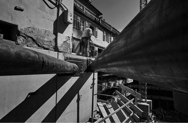 Lavori. foto cantiere di Gregor Khuen Belasi