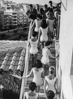 Le belle d'Italia. Roma, 1958. CSAC Universita di Parma - Fondo Publifoto