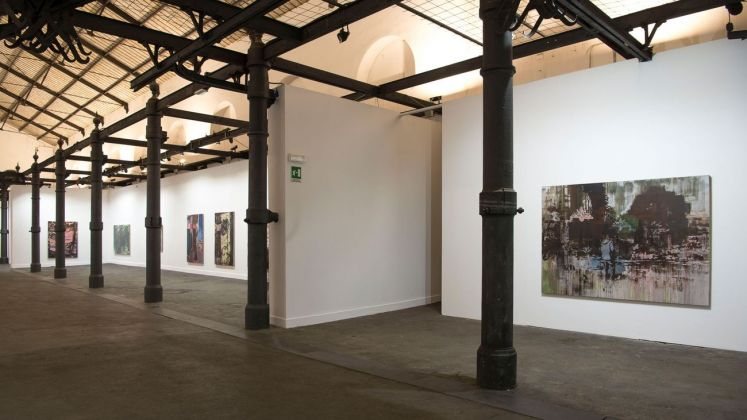 Lu Song. Interni Romani. Exhibition view at Mattatoio, Roma 2018. Photo Giorgio Benni