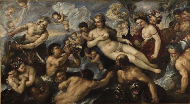 Luca Giordano, Nascita di Venere. Chalon sur Saône, Museée Vivant Denon